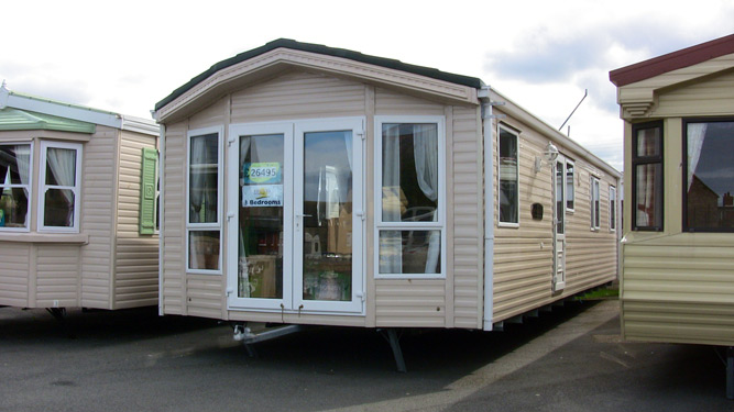Towyn Caravan Hire Willerby Winchester 2008 sited on Browns, Towyn